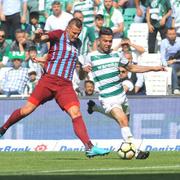 Bursaspor - Trabzonspor maçı fotoğrafları
