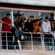 Galatasaray şampiyonluğu Florya'da kutladı!