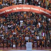 Galatasaray'ın şampiyonluk gecesinden özel kareler