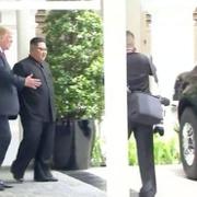 Trump Kim'e arabasını gösterdi! Adeta ezdi...