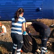 Tekirdağ Çorlu'da tren devrildi: İşte ilk fotoğraflar!