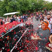 Erdoğan'ın yemin töreninden düşman çatlatan müthiş görüntü