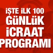 İşte Erdoğan Kabinesi'nin İlk 100 günlük icraat programı...