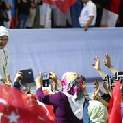 AK Parti Kadın Kolları 5. Olağan Kongresi'nden renkli kareler!
