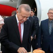 Cumhurbaşkanı Erdoğan'a Kırgızistan'da 'Borsok' ikramı!