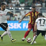 Beşiktaş Yeni Malatyaspor maçı fotoğrafları