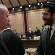 Cumhurbaşkanı Erdoğan Beştepe'de sinema temsilcilerini kabul etti