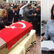 Ceren Damar'ın cenazesinde eşinden katiliyle ilgili ibretlik açıklama