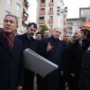 Enkazdan yaralı kurtarılan kadın o anları Erdoğan'a anlattı