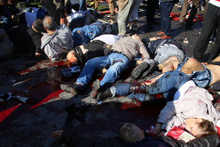 Ankara patlaması dehşete düşüren ilk fotoğraflar