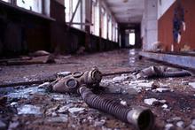 Hayalet şehir Çernobil felaketin izleri hala taze