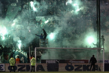 Panathinaikos - Olympiakos derbisi iptal edildi
