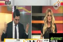 Antalyaspor'un golü sonrası GS TV spikeri