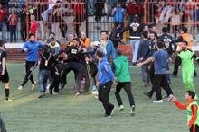 Karagümrük'te rakip futbolculara saldırı!