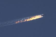 Rus uçağı kare kare böyle düşürüldü