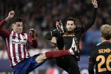 Atletico Madrid – Galatasaray maçının fotoğrafları