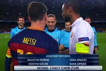 Messi'nin kabusu Cüneyt Çakır oldu