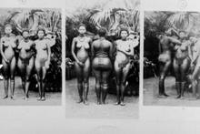 Bu kadınların kalçasını görmek için... Tarihin kara fotoğrafları!
