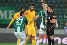 Bursaspor - Kayserispor maçının fotoğrafları