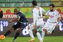 Çaykur Rizespor - Torku Konyaspor maçının fotoğrafları