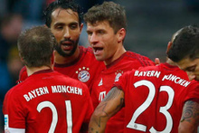 Bayern Münih'ten 7 dakikada 2 gol...