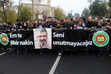 Tahir Elçi cenaze töreni dikkat çeken detay!