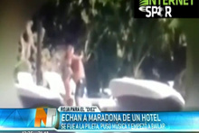 Erotik dans Maradona'yı kovdurdu!