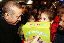 Erdoğan sokağa indi gören şaşırdı!