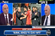 Ahmet Çakar: Muslera, Burak ve Selçuk utanmalı