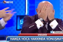 Rasim Ozan, Sinan Engin'in yüzüne tükürdü