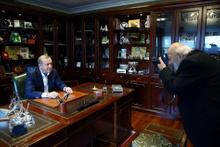 Ara Güler çekti Cumhurbaşkanı Erdoğan poz verdi
