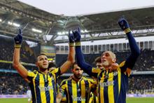 Fenerbahçe Rizespor maçının fotoğrafları
