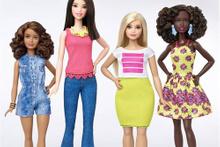 Barbie bebekler artık daha kıvrımlı!