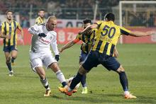 Bucaspor Beşiktaş maçının fotoğrafları
