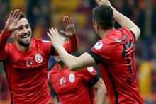 Galatasaray Gaziantepspor maçı fotoğrafları