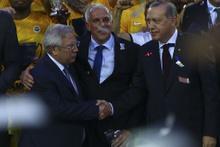 Fenerbahçe'de kupa coşkusu