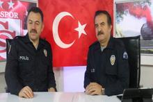 Spor programlarını polis üniformasıyla sundular