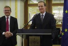 Fransa'nın İstanbul Başkonsolosu Buchwalter onuruna davet