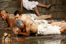 Hindular için çok özel... 3 nehrin birleştiği yerde