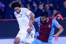Trabzonspor Akhisar Belediyespor maçı fotoğrafları