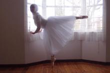Onun hedefi ilk 'Müslüman  balerin' olmak