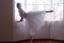 Onun hedefi ilk Müslüman balerin olmak
