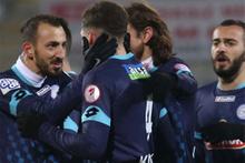 Çaykur Rizespor Eskişehirspor maçı fotoğrafları