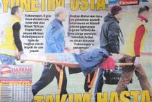 Trabzon basını yönetimi ve futbolcuları topa tuttu!