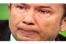 Tanju Çolak hüngür hüngür ağladı