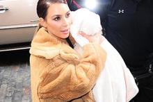 Kim Kardashian minik oğlu Saint'in ilk fotoğrafı