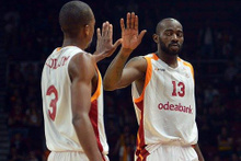 Galatasaray Odeabank rakibine geçit vermedi