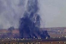 DAEŞ'in bomba yüklü aracı vuruldu!