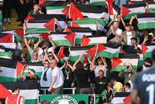 Celtic'e Filistin bayrağı cezası