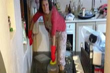 Hülya Avşar'ın teyzesinin evi sular altında kaldı! 9 yıldır isyan ediyor